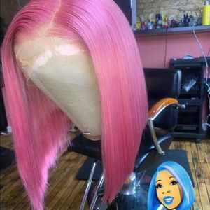 Ms.Pinky colored wig